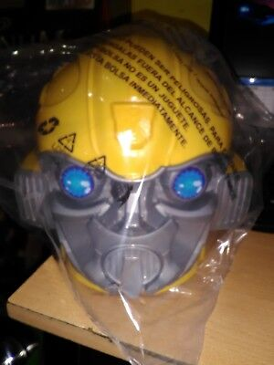 BUMBLEBEE Head PROMO Limited BUCKET FOR POPCORN NEW MOVIE CINEMEX MEXICAN 2018