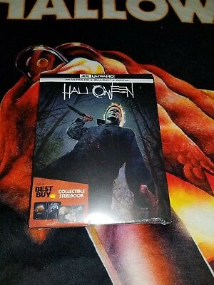 Halloween 2018 SteelBook (4K Ultra HD/Blu-ray/Digital) Best Buy Exclusive SEALED