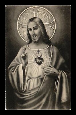 Dr Jim Stamps Us Sacred Heart Of Jesus Christ Religious Topical Postcard