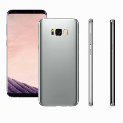 Samsung Galaxy S8 Plus 1:1 Non Working Display Toy Dummy Model Fake Silver Phone
