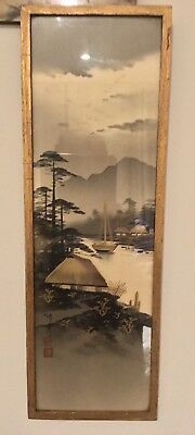 Early 20th Century signed Japanese Watercolour