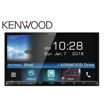 Kenwood DDX7018BT AV Receiver with 7.0inch WVGA Superfine View Display USB