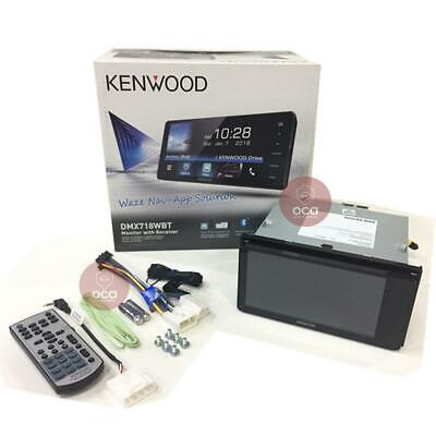 "Kenwood DMX718WBT 7"" Multimedia Bluetooth AV Receiver 200mm Toyota (No Dvd)"