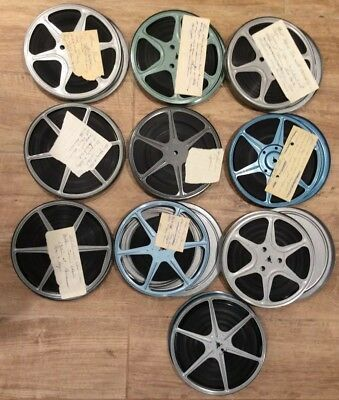 1960's Vintage Home Movies 8Mm Vacation In Spain, Cabin Trip, Lookout Mnt.colora