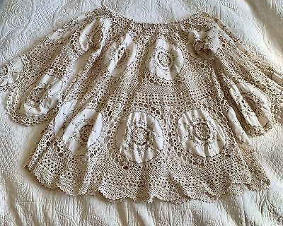 Chuckles And Boo Antique Lace Tunic Top