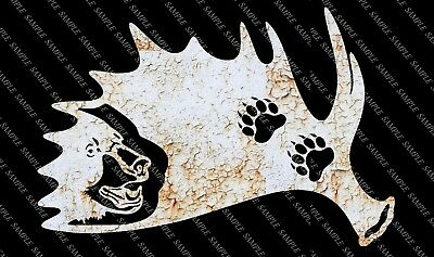 DXF CNC dxf for Plasma Laser Waterjet Plotter Router Cut Ready Moose Bear Ant