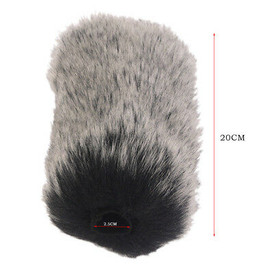 Microphone Windshield Windscreen Muff for TakstarNAQ7 Artificial Fur Wind Shield