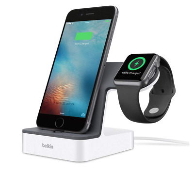 USED Belkin 'Powerhouse' Charge Dock for Apple Watch + iPhone