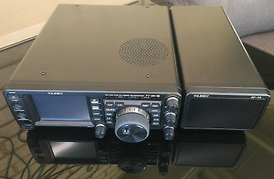 Yaesu FT-991A HF VHF UHF Transceiver with SP-10 Speaker as New & RTSystems