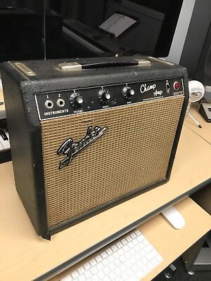 1965 Fender Champ Blackface Guitar Amplifier