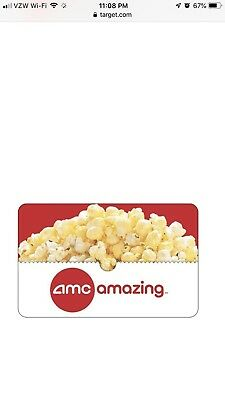 $50 Amc theater gift card.