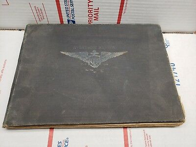 Book: 1921 Avation Review US Navy San Diego California