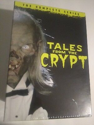 Tales from the Crypt: The Complete Seasons 1-7 (DVD, 2017, 20-Disc Set) Sealed!*