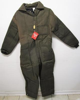 VINTAGE NOS 1960's INSULATED FARM WORK COVERALLS SZ M