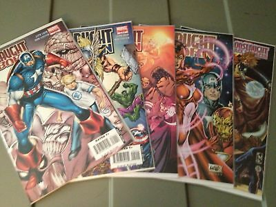 Onslaught Reborn 1 2 3 4 5 F/VF/NM+ Mini Series, with Variants