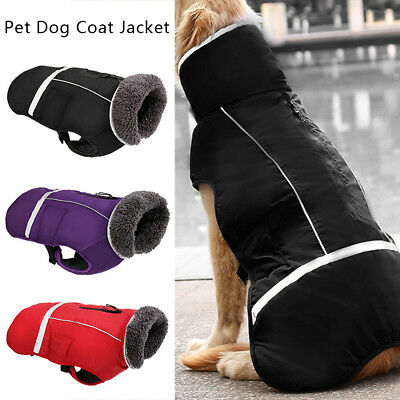 Waterproof Dog Winter Warm Clothes Pet Dog Puppy Coat Jacket Vest Small Large CA