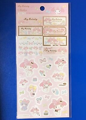 SANRIO  MY MERODY STICKER SHEET From Japan  New AirMail
