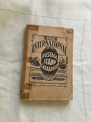 1897 Orig. 19th Century Étherema« The International Postage Stamp Catalogue »