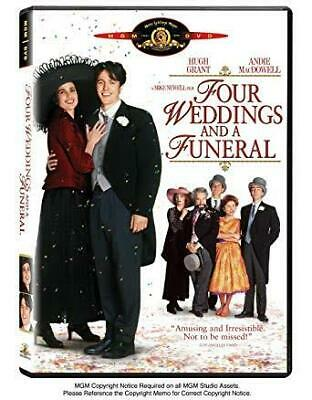 Four Weddings And A Funeral (DVD) Region 1 USA - BRAND NEW SEALED