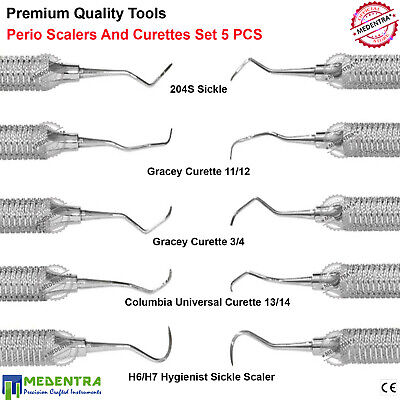 Periodontist Root Canal Curettes Columbia Hygienist Scalers William Probe CPITN