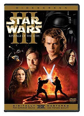 Star Wars 3 Revenge Of The Sith (DVD) Brand New Sealed R4