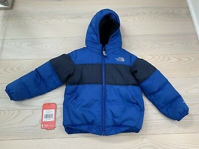 The North Face Kids Toddler Boys Moondoggy 2.0 Down Jacket Blue Size 4T