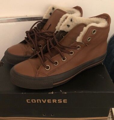 5964fc262875 CONVERSE PADDED CHOCOLATE BROWN ROBE All Star Ct as Pc2 Mid Size 6 Uk Men s  BNIB