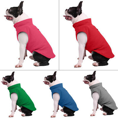 Pet Dog Fleece Harness Vest Jumper Sweater Coat for Small Medium Dogs Jacket