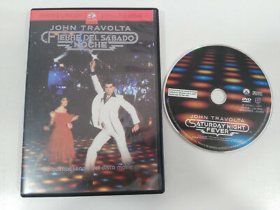 Fever Saturday Night John Travolta Dvd Spanish English Region 2
