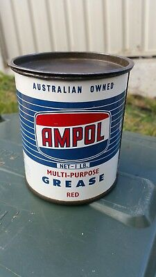 Ampol 1lb grease tin ( Very Nice )