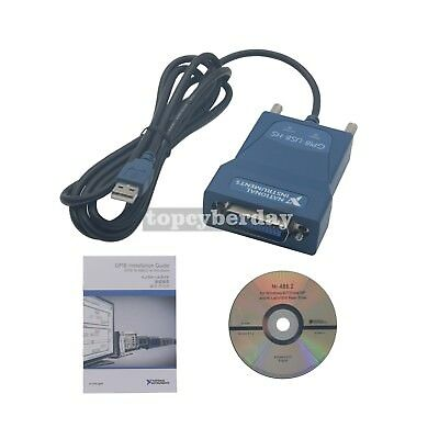 NI GPIB-USB-HS National Instrumens Interface Card Adapter Controller IEEE HS488