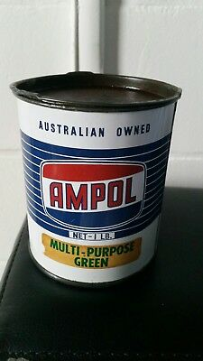 Ampol 1lb grease tin  (Nice )