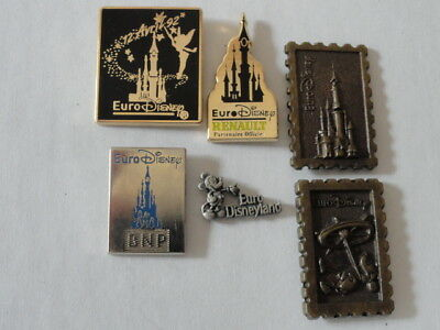 Lot Pin S Disney Eurodisney Disneyland