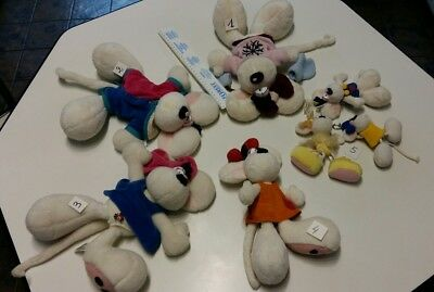 Lot De  Peluches   Diddl