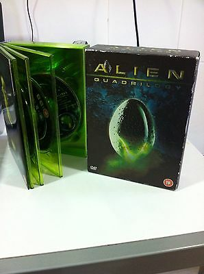 Alien Quadrilogia Deluxe Edition 9 Dvd English Extended Versions Ultimate