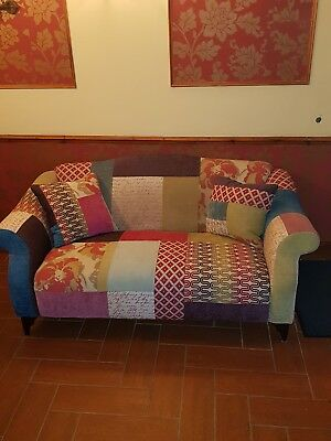 Dfs Shout Patchwork Sofa 2 Seater