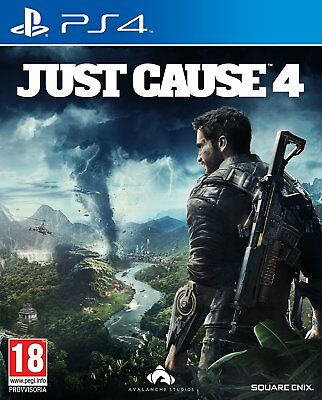 Just Cause 4 Ps4 Play Station 4 Usato Ma Come Nuovo Ita