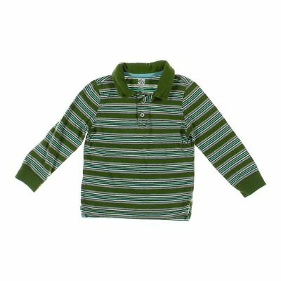 Old Navy Boys Polo Shirt, size 5/5T,  grey, green,  cotton