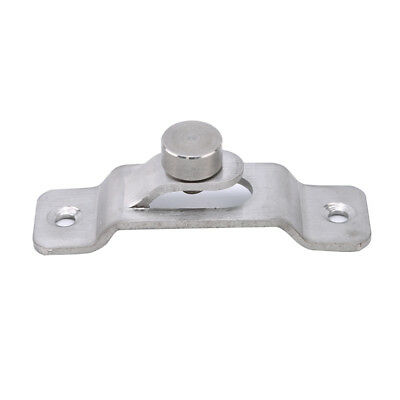 Large Right Angle Door Latch Curved Latch Bolts Lock Stainless Steel Utensil Z
