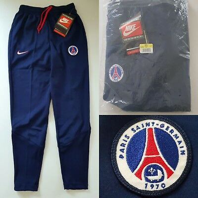 NIKE PSG PARIS SAINT GERMAIN 1990's PLAYER ISSUE POLY PANTS SOCCER FOOTBALL NEW