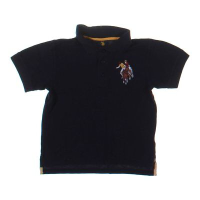 U.S. Polo Assn. Boys Polo Shirt, size 8,  blue/navy,  cotton, polyester