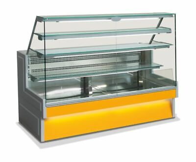Refrigerated Counter with Straight Window, 1435x876x1432 Mm
