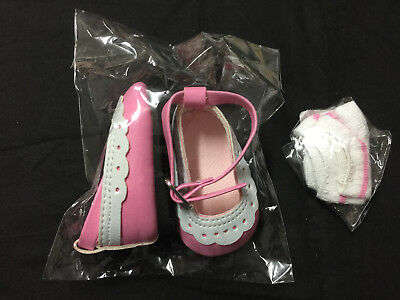 Dolls Shoes And Socks To Fit 17 Inch  Baby Born Size & Our Generation Doll