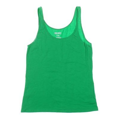 d6664a158 OLD NAVY WOMEN'S Tank Top Green Gold Pineapple Spring Summer Cotton ...