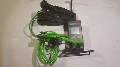 Hilmor Dual Readout Thermometer, 1839106 with two K-style tube clamp thermocoupl