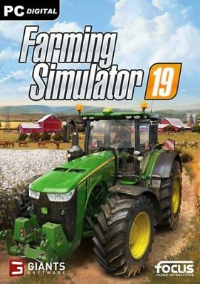 Farming Simulator 19 - Pc - Italiano Completo Originale 2019