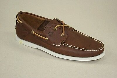 Timberland Heritage 2-Eye Boat Shoes Boat Shoes Boat Shoes Men's Shoes 6501R