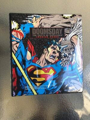Doomsday The Death Of Superman and Return Of Superman Trading Card Collection