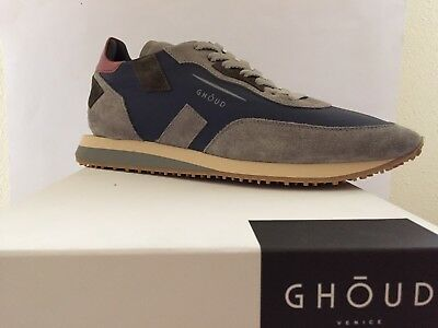 GHOUD VENICE - Rush   Sneakers Uomo Blue Gris Red Tg. 42 - NUOVE NEW ... 93671edd033