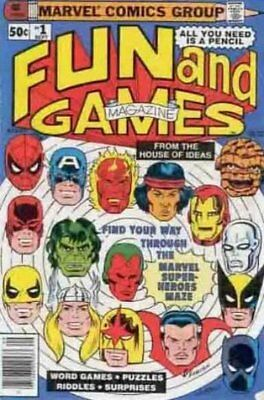 Fun and Games (Vol 1) # 1 (VFN (VyFne Plus Marvel Comics ORIG US